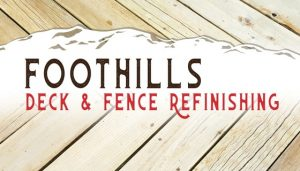Foothills Deck Refinishing